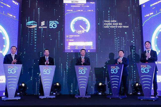Cuộc gọi 5G đầu tiên tại Việt Nam đã được Viettel thực hiện thành công, đạt tốc độ 1,5Gbps