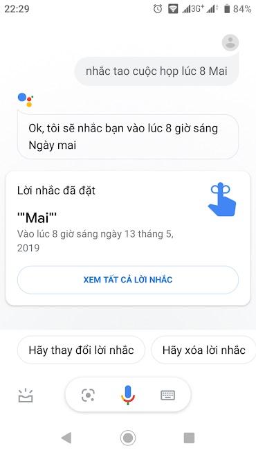 Những điều bạn có thể hỏi Trợ lý Google