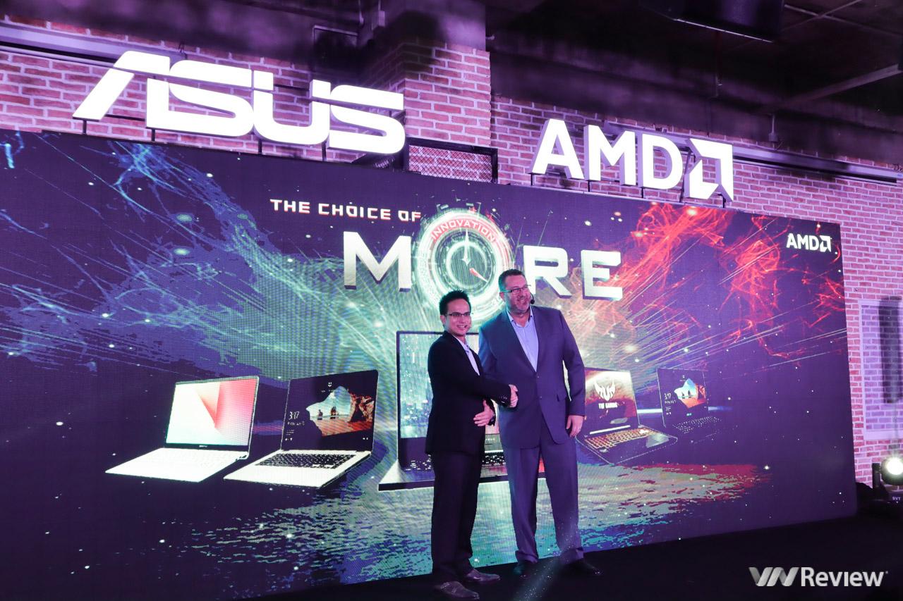Asus trình làng loạt laptop trang bị AMD Ryzen Mobile thế hệ mới nhất tại VN với giá từ 8,49 triệu đồng