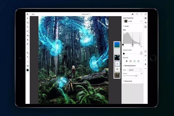 Adobe mở đăng ký bản Photoshop beta cho iPad trước thềm ra mắt trong năm nay