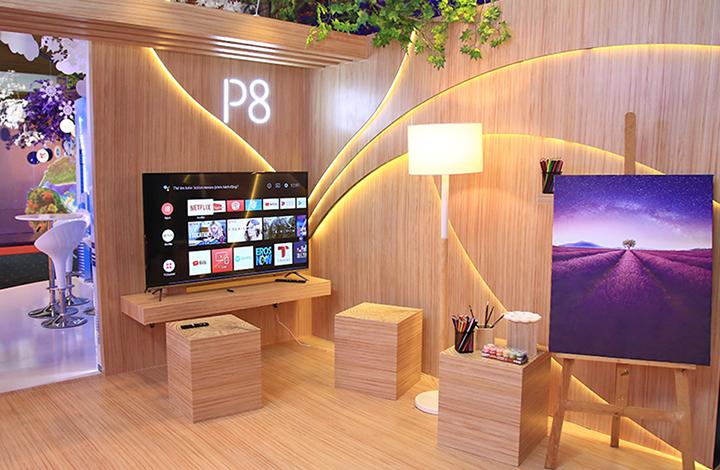 TCL P8 – dòng TV 4K Android giá mềm nhất thị trường Việt Nam hiện nay