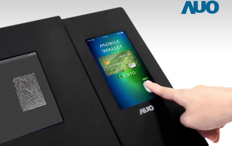 AUO giới thiệu màn hình LCD tích hợp cảm biến vân tay quang học đầu tiên trên thế giới