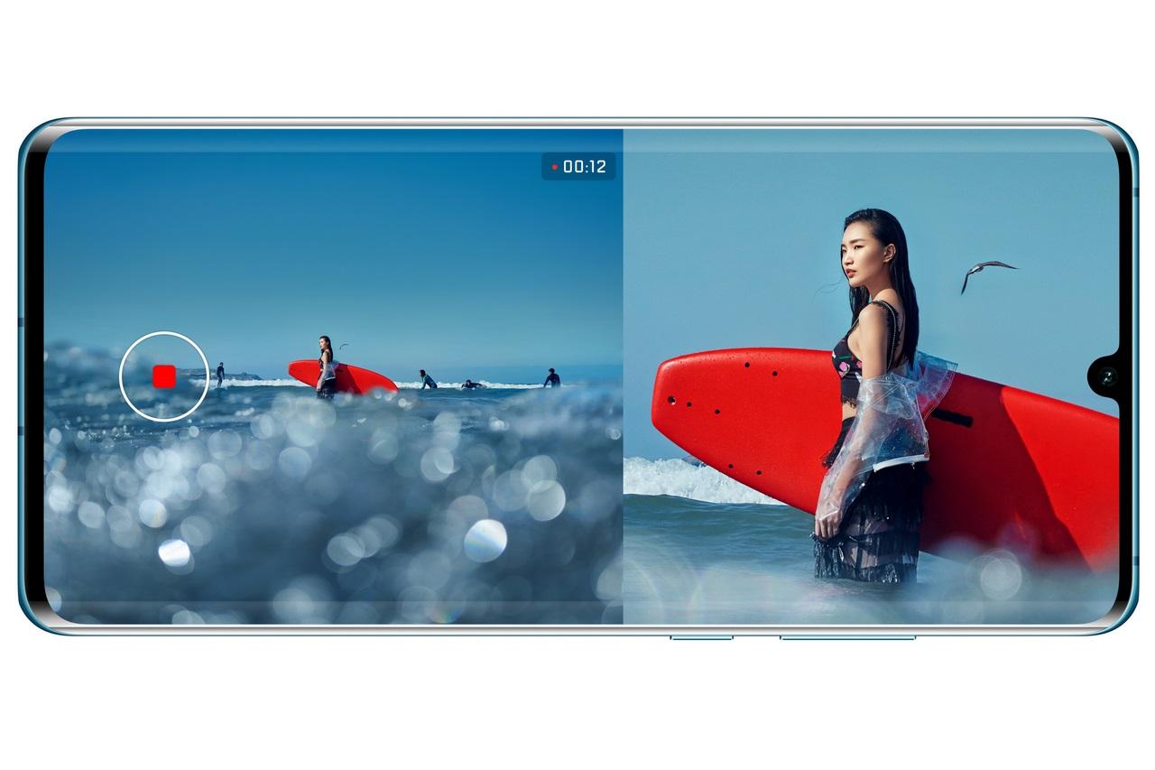 Huawei P30/ P30 Pro tại Việt Nam đã có thể sử dụng tính năng quay phim kép Dual View camera