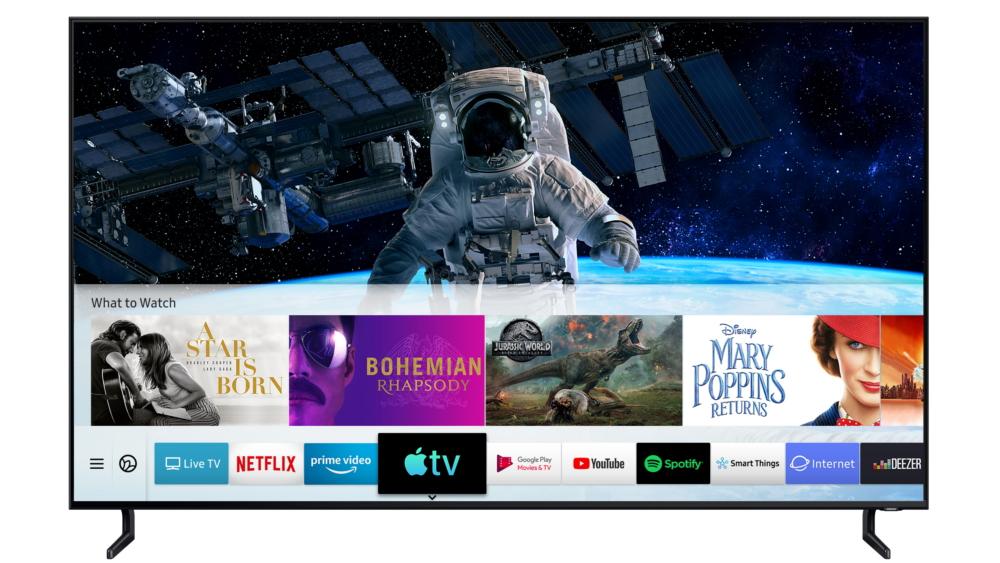 Một số Smart TV Samsung ở Việt Nam đã có thể sử dụng Apple TV và AirPlay 2
