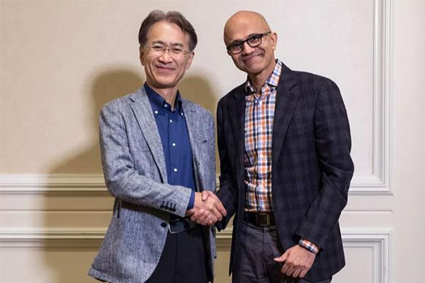 """Microsoft và Sony """"bắt tay"""" cùng phát triển nền tảng chơi game đám mây"""
