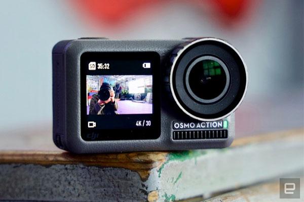 DJI trình làng camera hành trình Osmo Action, quyết cạnh tranh với GoPro