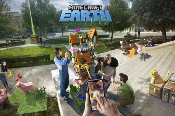 Microsoft ra mắt Minecraft Earth: Khi Minecraft + Smartphone + AR