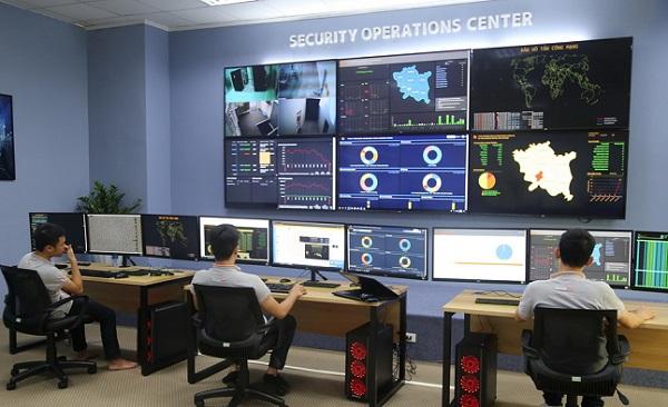 Tỉnh Thái Bình khai trương Trung tâm điều hành an ninh mạng SOC