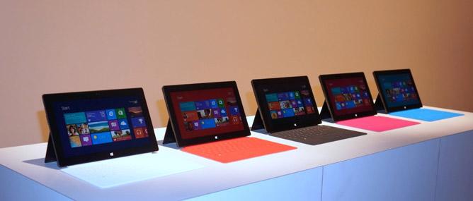 Máy tính bảng Microsoft Surface: vỏ nhôm, màn hình HD 10.6 inch