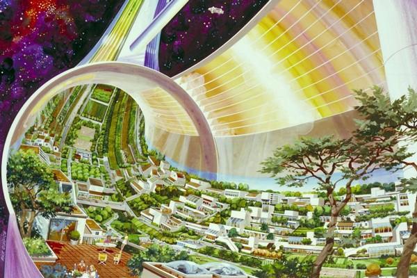 Tỷ phú Amazon muốn con người sống trên thành phố nổi ngoài không gian như phim Elysium