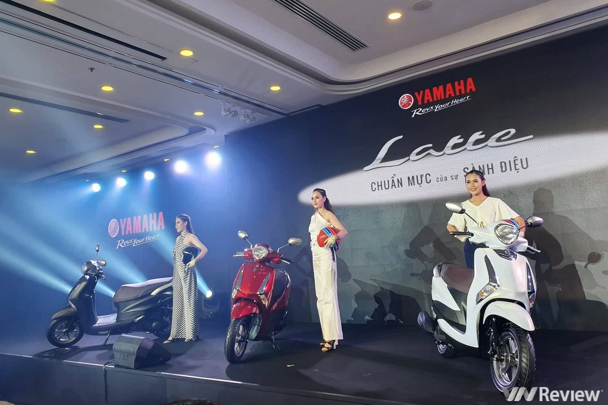Yamaha Latte trình làng tại VN: đối đầu Honda Lead và Vision, giá bán dự kiến 37,9 triệu đồng