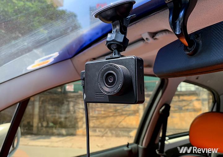 Trên tay camera hành trình Cacago C03 giá 1,49 triệu đồng: nhỏ như camera hành động, ghi video kèm âm thanh