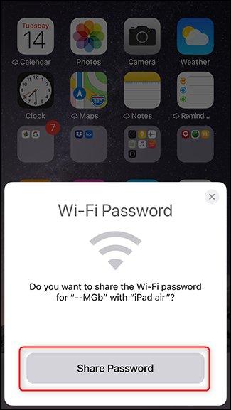 Hướng dẫn chia sẻ mật khẩu Wi-Fi giữa các máy iPhone, iPad - Ảnh 10.
