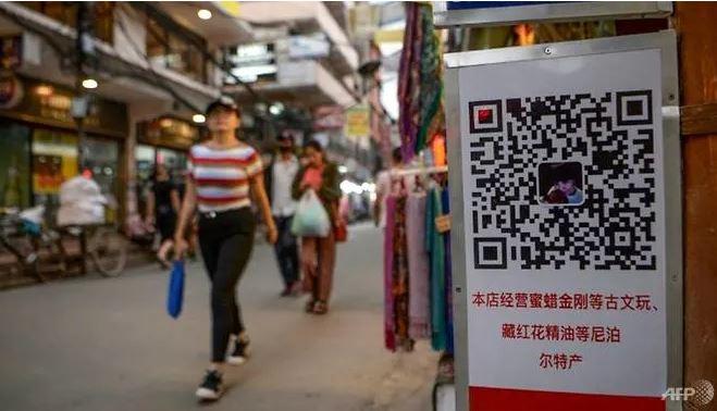 Nepal cấm ví điện tử Trung Quốc