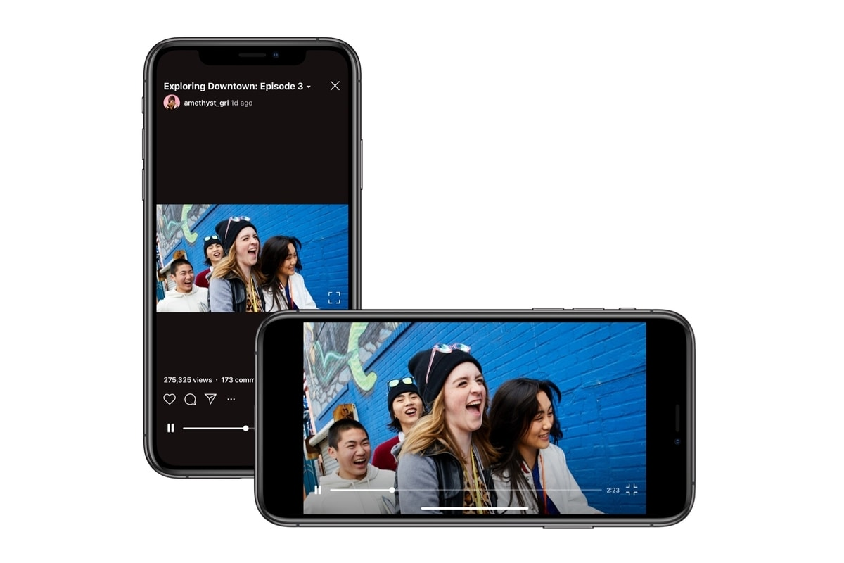 """Instagram IGTV đã không còn """"sống chết"""" với video dọc, chính thức hỗ trợ thêm video ngang"""