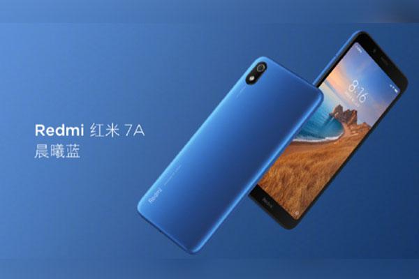 Redmi 7A chính thức ra mắt: màn 5.45 inch, pin 4.000mAh, camera đơn, không cảm biến vân tay