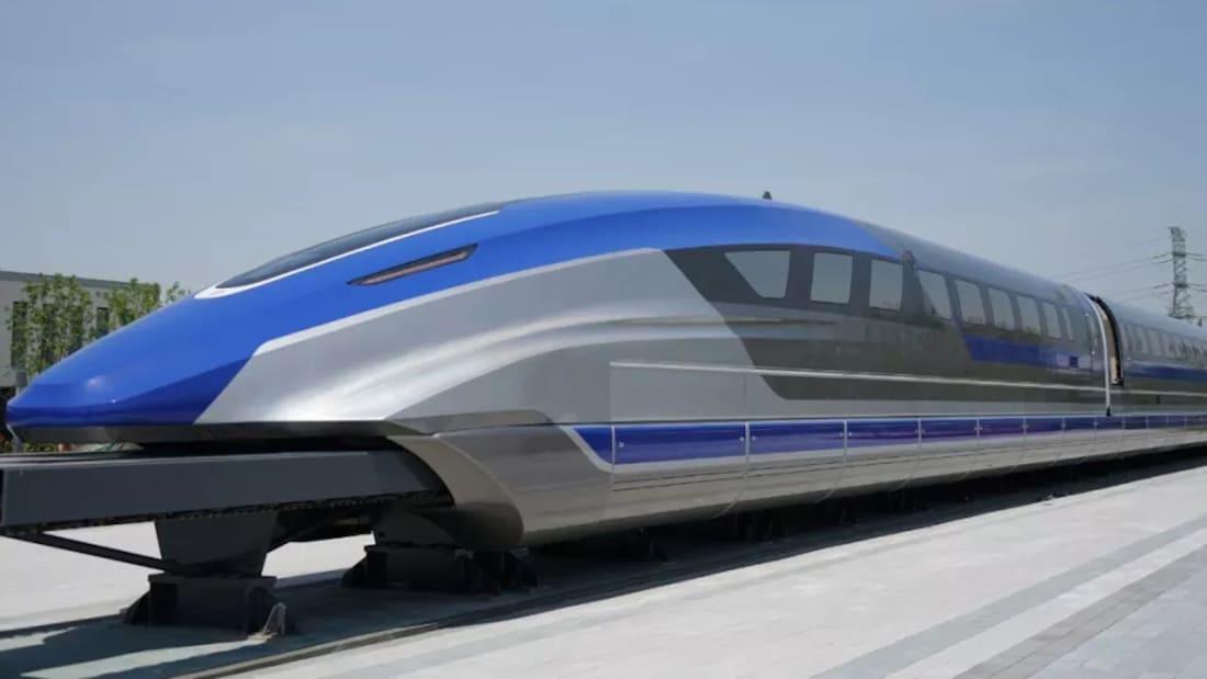 Trung Quốc công bố prototype con tàu đệm từ mới có tốc độ lên đến 600km/h