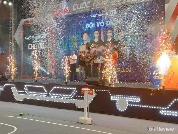 Học viện Kỹ thuật Quân sự xuất sắc giành ngôi vô địch Cuộc đua số 2019