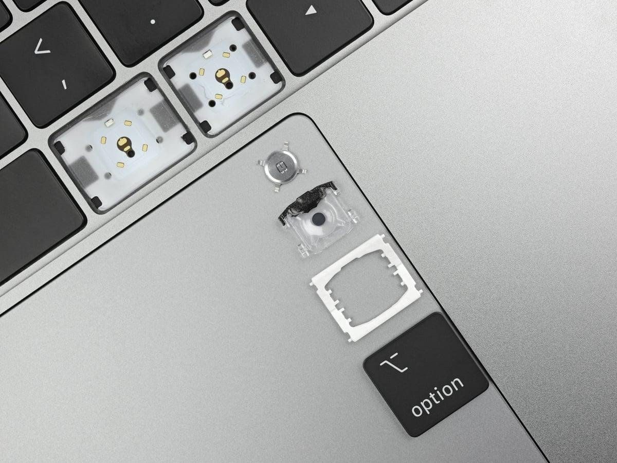 """Apple chỉ cải tiến hai chi tiết nhỏ trên bàn phím MacBook Pro 2019 song được đánh giá là """"khéo léo"""""""