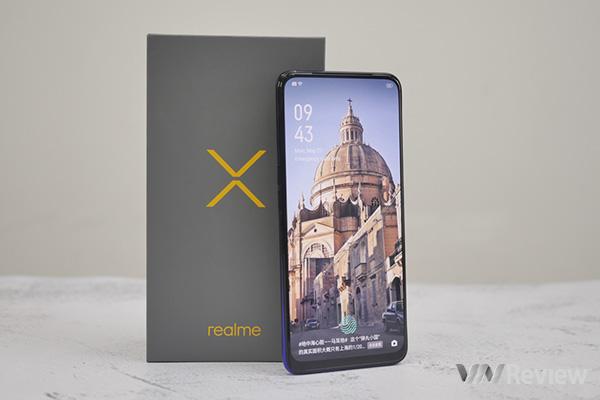 Mở hộp, trên tay Realme X đầu tiên tại Việt Nam: Bom tấn giá rẻ của 2019?