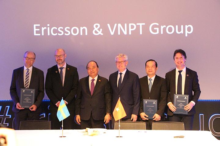 Ericsson và VNPT ký hợp tác chiến lược về công nghiệp 4.0 và Internet vạn vật