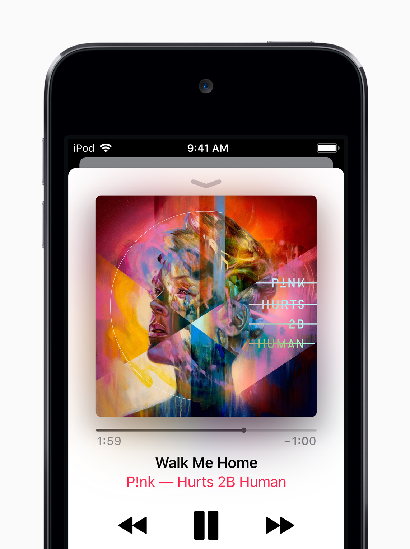 iPod Toich 2019