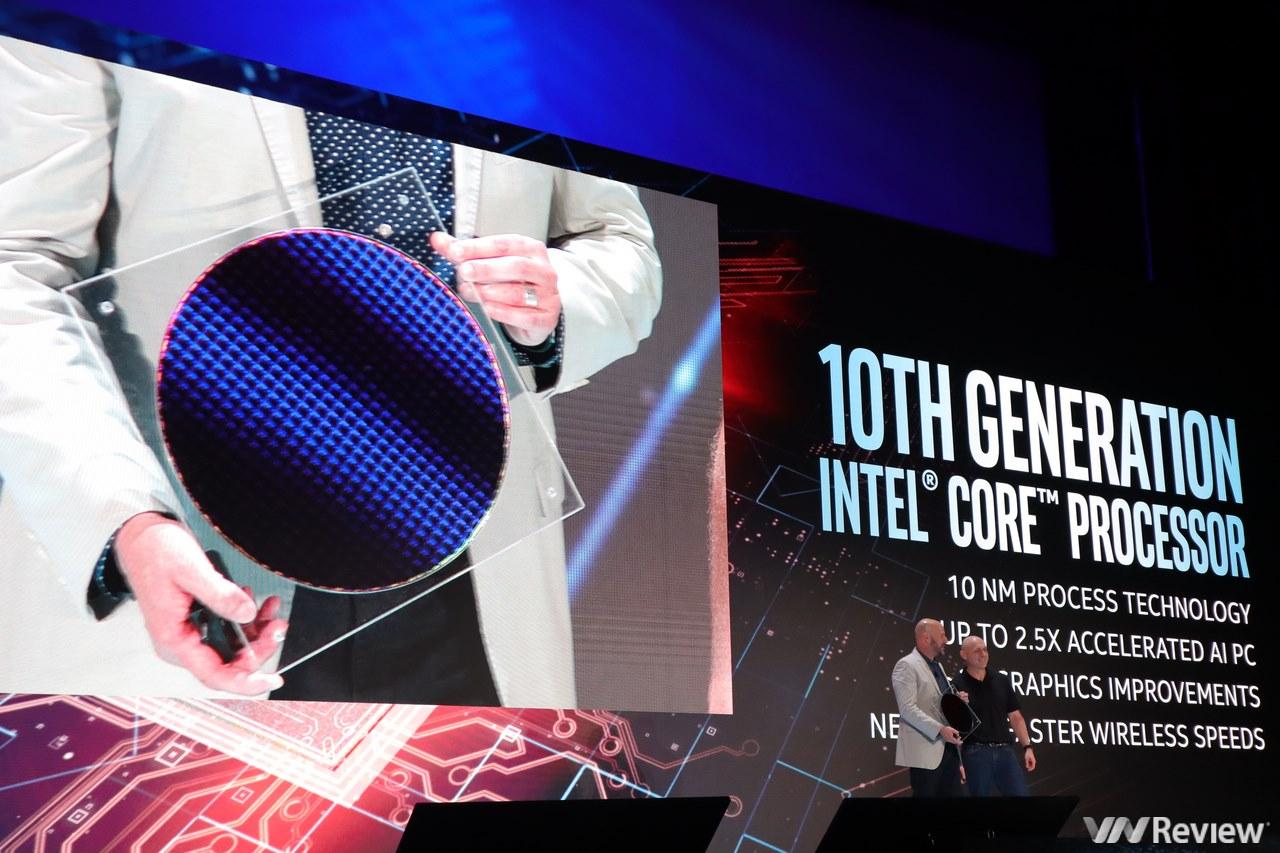 Computex 2019: Intel trình diễn Core i đời 10 Ice Lake với hàng loạt cải tiến, Project Athena pin 16 tiếng cho laptop, hé lộ về Intel Core X Series thế hệ mới