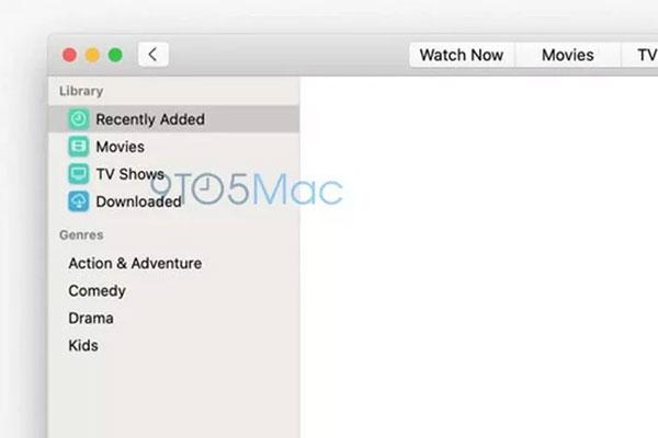 Lộ ảnh màn hình chụp ứng dụng Apple TV và Music mới trên macOS