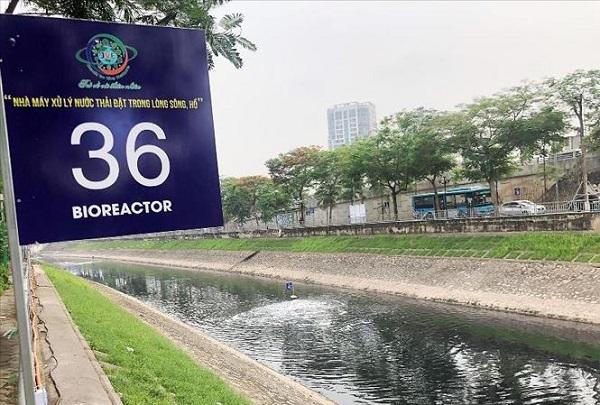 Dư luận hoài nghi xử lý ô nhiễm sông Tô Lịch, đơn vị cung cấp 'bảo bối' nói gì?