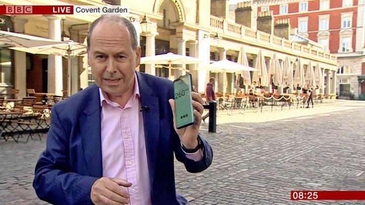Phiên truyền hình bằng sóng 5G đầu tiên của BBC nhanh chóng bị mất kết nối vì…hết lưu lượng mạng