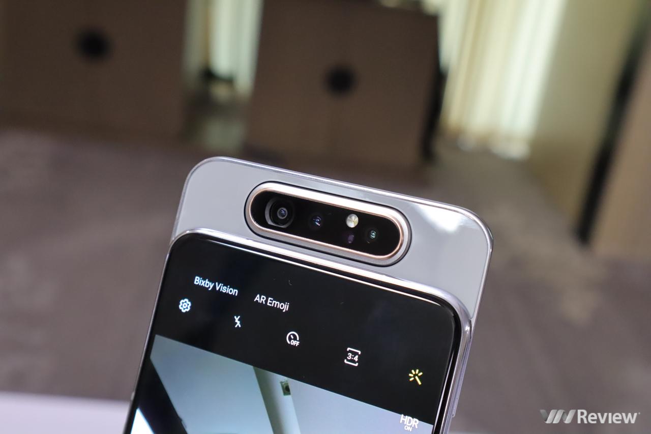 Samsung Galaxy A80 camera trượt xoay có giá 14,99 triệu đồng ở Việt Nam, bán từ 6/7