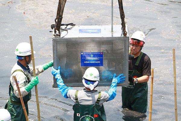 Công nghệ Nano - Bioreactor của Nhật Bản xử lý ô nhiễm sông Tô Lịch như thế nào?