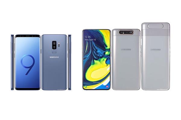 Đọ cấu hình Galaxy S9+ và Galaxy A80: nên mua flagship cũ hay tầm trung mới?