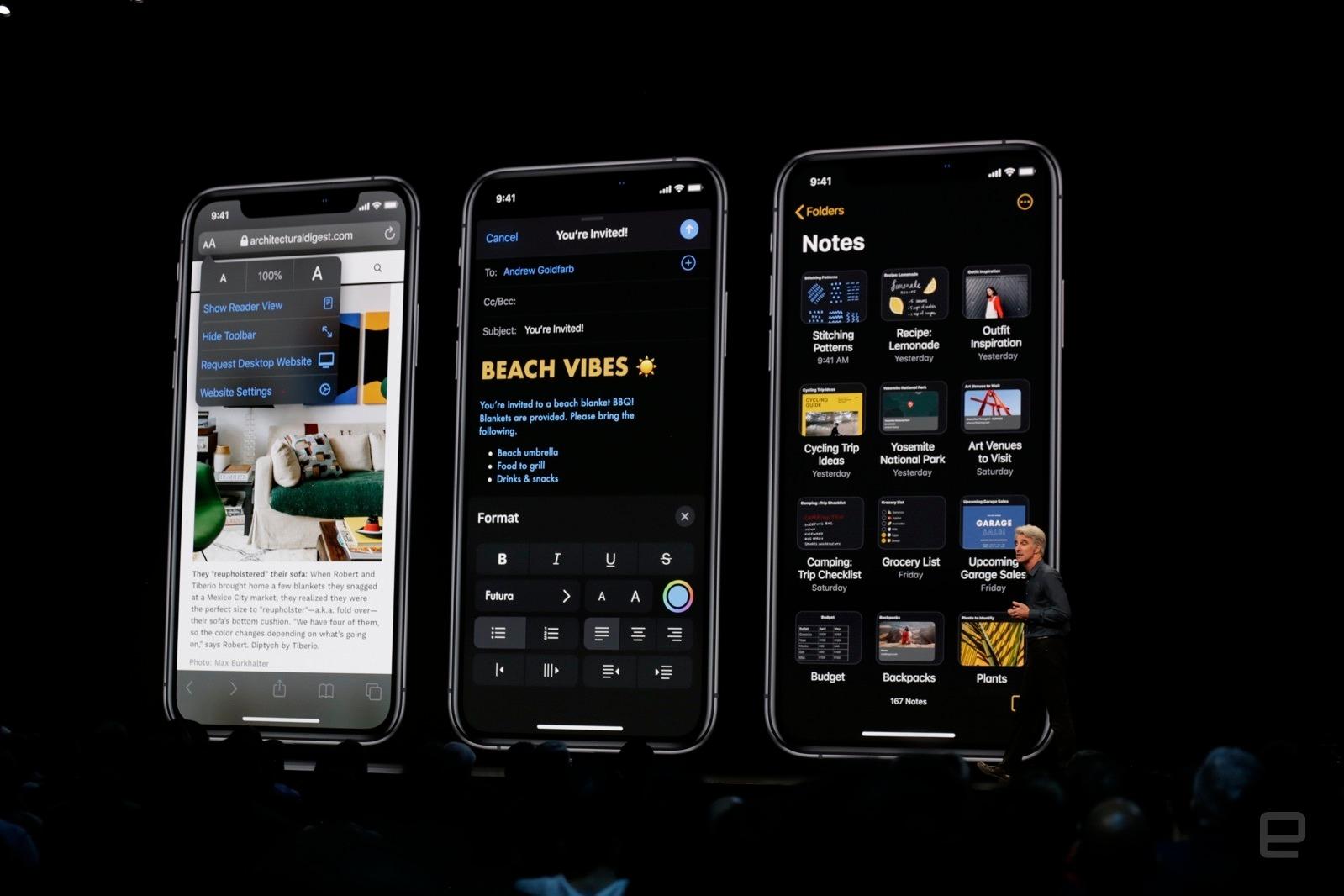 Apple chính thức công bố iOS 13 với nhiều cải tiến mới