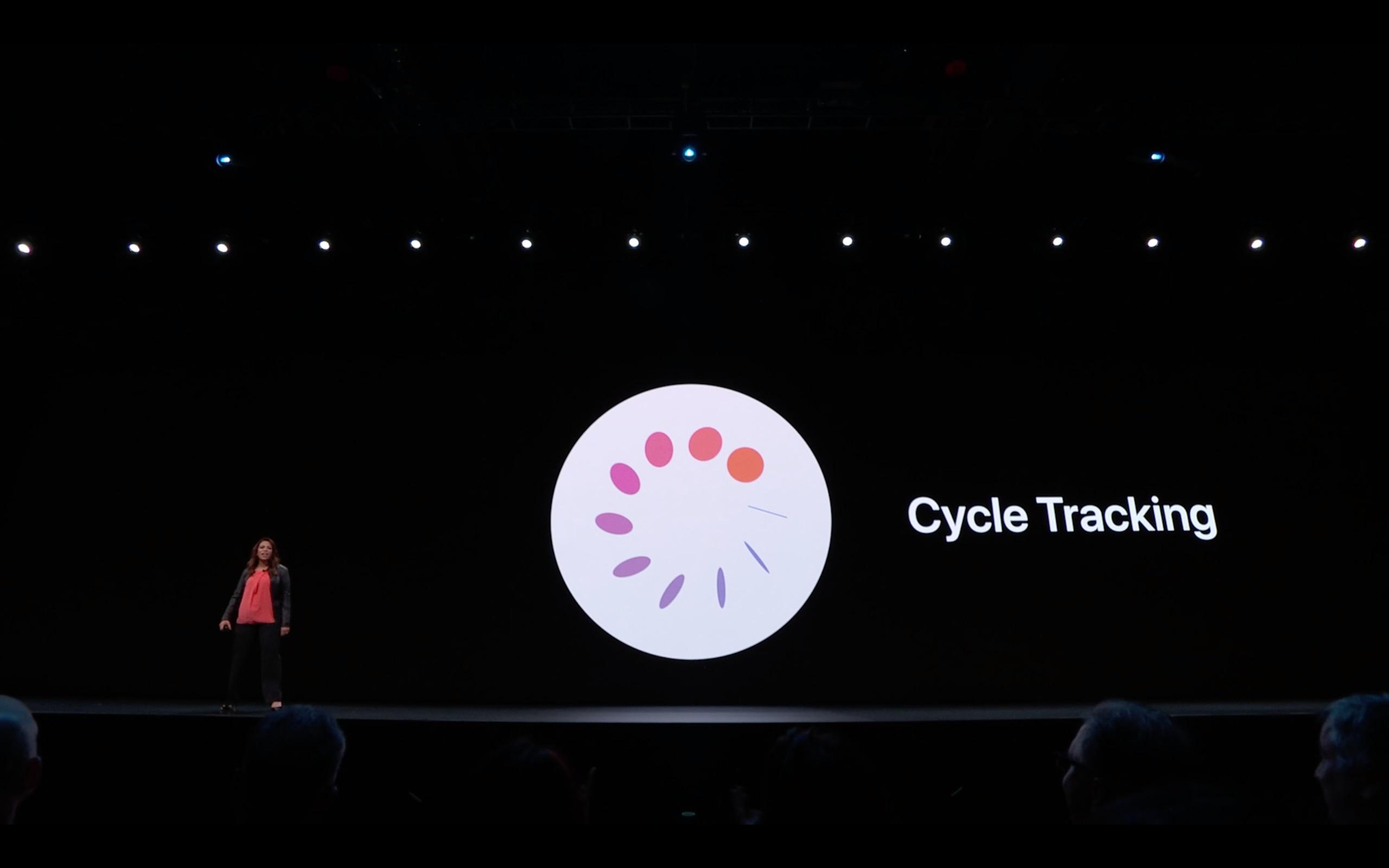 Theo dõi chu kỳ kinh nguyệt là tính năng mới đáng chú ý nhất về sức khoẻ của Apple Watch năm nay