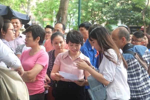 Đáp án đề thi Toán vào lớp 10 trường chuyên công lập ở Hà Nội