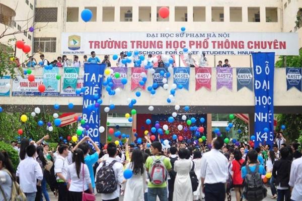 THPT Chuyên Đại học Sư phạm công bố điểm chuẩn