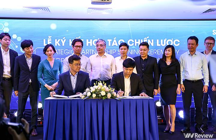 Tập đoàn Egroup của Shark Thủy bắt tay Samsung để cải tiến môi trường đào tạo, tiến sang Hàn Quốc