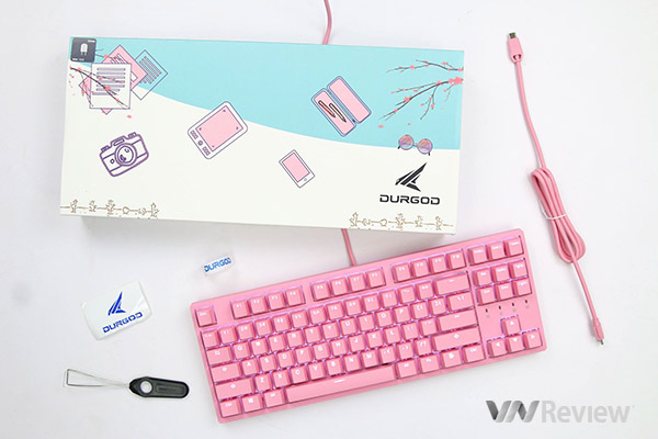 Đánh giá bàn phím cơ Durgod Taurus K320 Corona Sweet Pink Limited Edition: Đến vì thiết kế, ở lại vì trải nghiệm