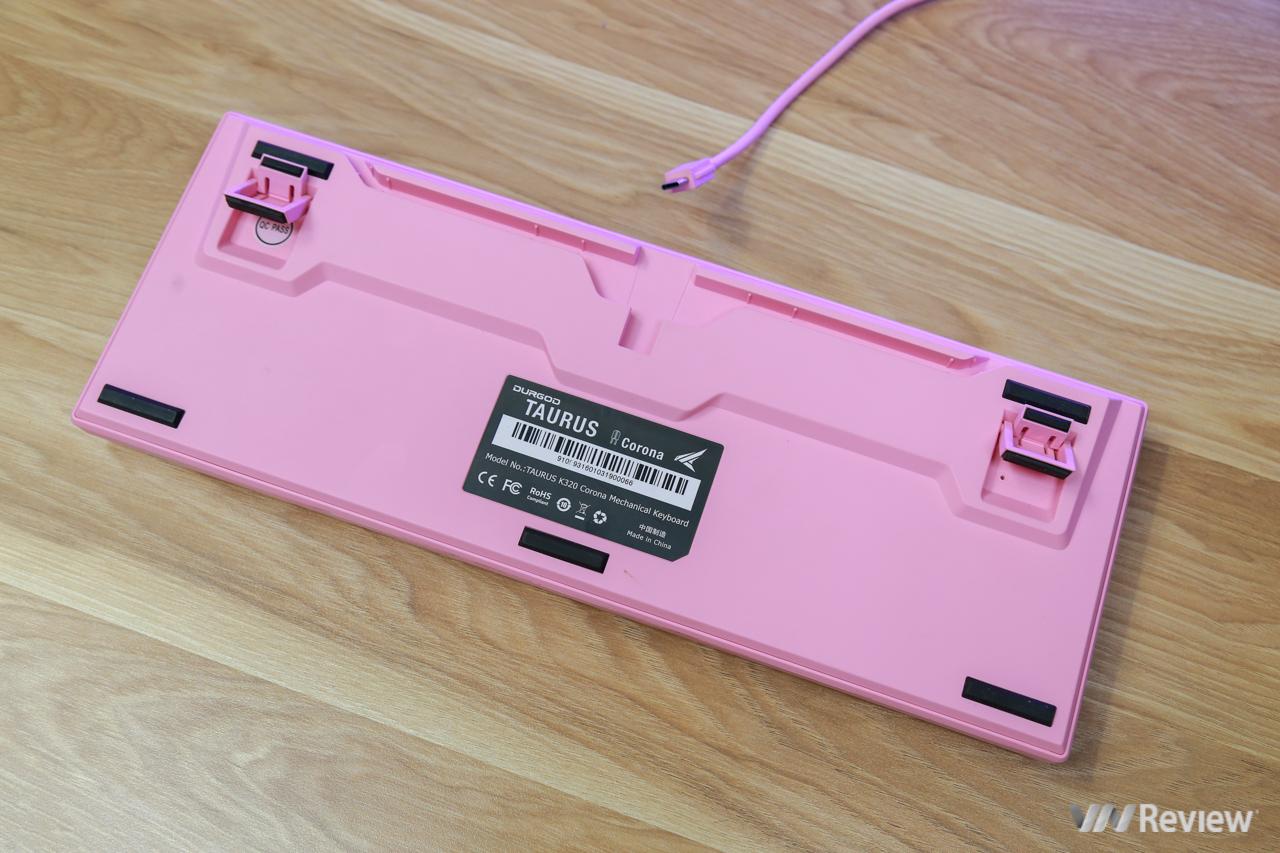 Review of Durgod Taurus K320 Corona Sweet Pink Mechanical