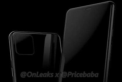 Rò rỉ ảnh render Pixel 4 có cục bướu camera trông chẳng khác gì iPhone 11