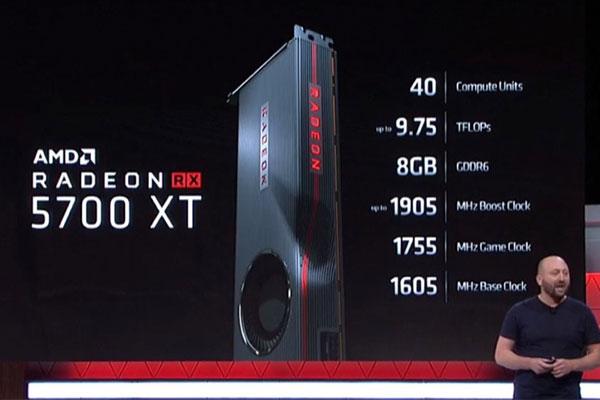 AMD ra mắt GPU Radeon RX 5700 XT, giá 450 USD