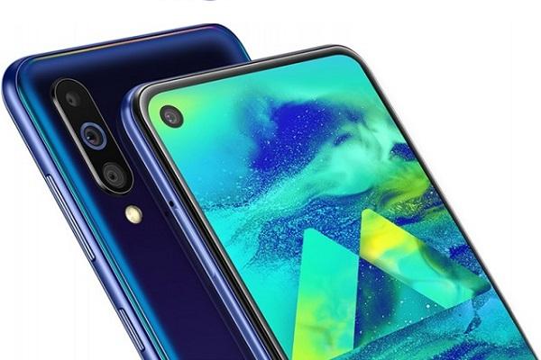 Samsung trình làng Galaxy M40: màn đục lỗ, Snapdragon 675, loa thoại trong màn hình