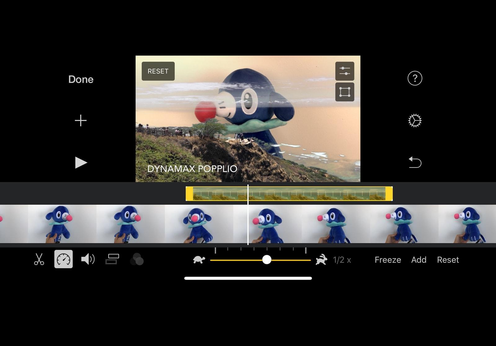 """Ứng dụng iMovie trên iOS có thêm tính năng tách nền """"phông xanh"""" cho video"""