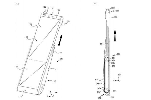 Galaxy Fold chưa xong, Samsung đang âm thầm phát triển smartphone có... màn hình cuộn?