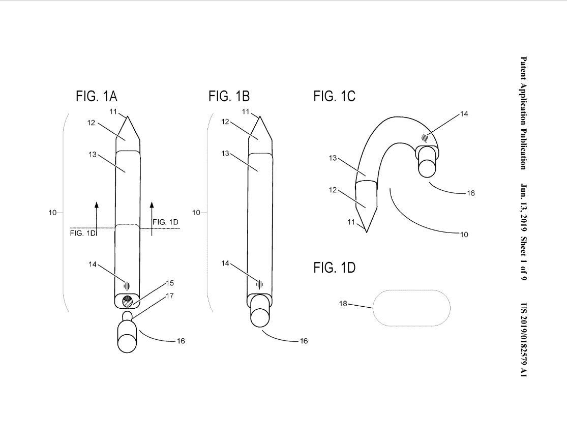 Microsoft đang phát triển một cây bút Surface có thể bẻ cong và đeo vào tai