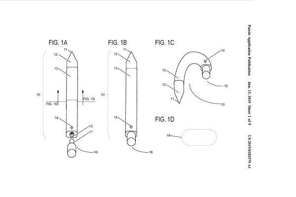 Microsoft đang phát triển một cây bút Surface có thể bẻ cong và... đeo vào tai