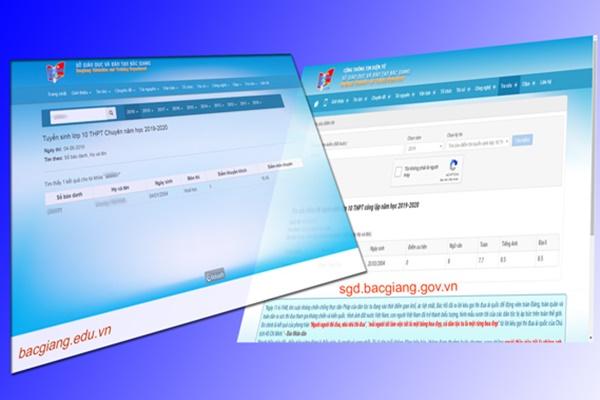Bắc Giang công bố điểm thi tuyển sinh vào lớp 10