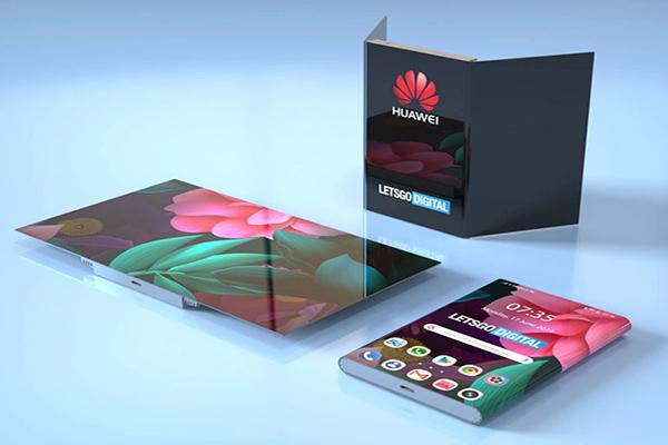Huawei vừa được cấp bằng sáng chế phiên bản điện thoại gập thứ hai, sau Mate X