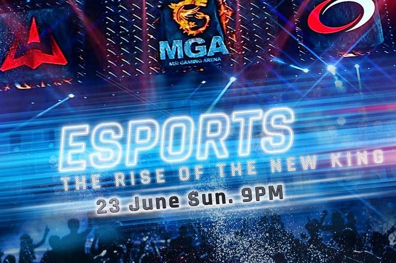 MSI kết hợp cùng kênh Discovery Channel mở chương trình Esport: The rise of the new king